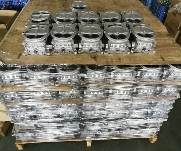 Two-barrel-carburetors-casting-parts